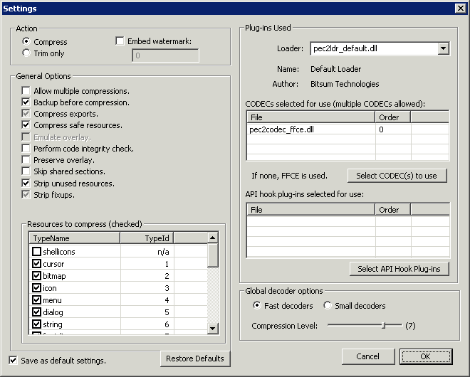 Using the GUI
