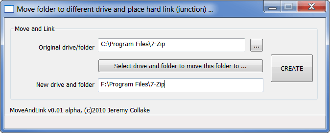 JunctionMaster Right Click in Explorer