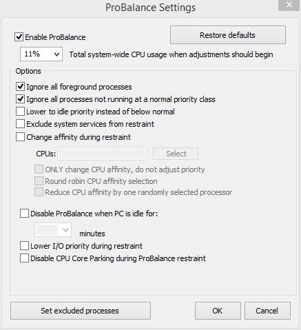 تحميل برنامج Process Lasso 6.0.2.62 للحد من بطىء الجهاز بسبب تثبيت البرامج