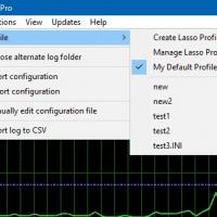Configuration Profile Selection