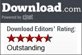 5/5 Editors Rating CNET Download.com