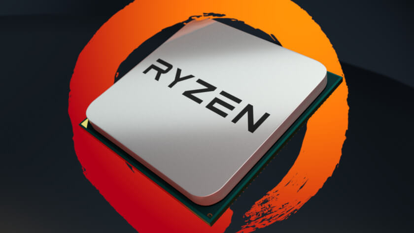 AMD Ryzen CPU Logo